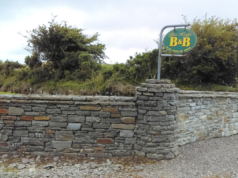 Dunmanway Bed and Breakfast West Cork signage